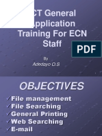 ICT General Application