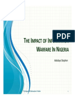The Impact of Information Warfare