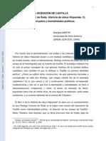 La invención de Castilla. Identidad patria y mentalidades políticas (G. Martin)