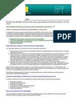 Profesionales Enfermeria - Real Decreto 450-2005