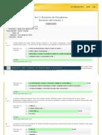 Act 1 Revisión de Presaberes PSICOLOGIA