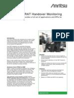 UMTS Inter-RAT Handover Monitoring