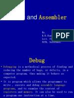 Debug and Assembler