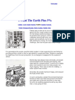 I Want the Earth Plus 5 Percent - English