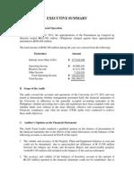 Plm Coa Report 2012