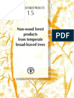NWFP 15 Non-Wood Forest Products From Temperate Broad-Leaved Trees