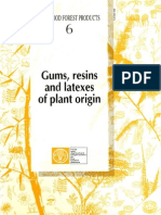 NWFP 6 Gums, Resins and Latexes of Plant Origin