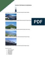 5 Gunung Tertinggi Di Indonesia