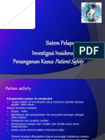 Pelaporan Patient Safety