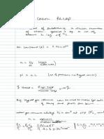 Quant Chem Recap