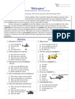 Informational Passages RC - Helicopters