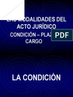 lasmodalidadesdelactojuridico-condicionplazoycargo-110508231936-phpapp02