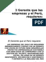 El Gerente que las empresas y el Perú requieren