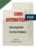 Oscar Jara Sistematizacion de Experiencias...