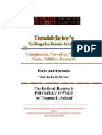 david icke - federal reserve system fraud
