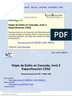 EspecificacionCSS2
