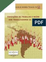 LIVRO - Condições de trabalho dos trabalhadores (2007)