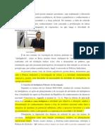 Artigo Inteligência Policial e Investigação