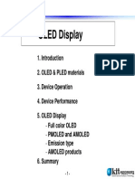 Oled Display Training