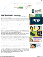 How the Sensex is Calculated - Rediff.com Business