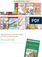 Roald Dahl and Galloping Foxley - Part 1