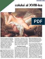 Pictura Sec Al XVIII-Lea