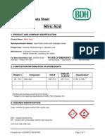 MSDS NitriMc Acid