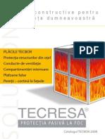 Pereti Tavane Antifoc Catalog_TECBOR