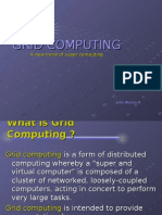 Grid Computing, An emerging trend of supercomputing by John Martin