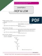 Ssc Cgl Numeric Aptitude (Hcf Lcm)