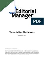 Reviewer Tutorial