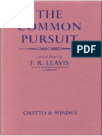 Leavis - The Common Pursuit