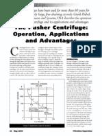 The Pusher Centrifuge