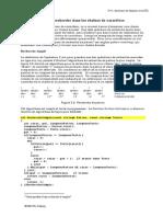 Algorithmes de recherche dans les chaînes de caractères