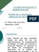 1.8 Teoria y Arboles de Decciones