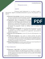 Presupuesto Maestro (Tema 4)