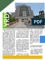 2014 YRDYC Application