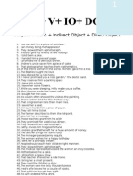 5 basic sentence patterns