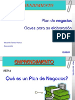 Marketing Ppt PLAN de NEGOCIOS Eduardo