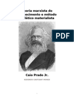 LIVRO - Teoria Marxista Do Conhecimento (CAIO PRADO JR.)