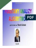 W01 - Problemy algorytmiczne