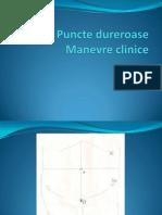 Puncte dureroase, manevre clinice.ppt