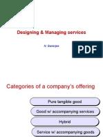 Designing & Managing Services