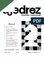 Ajedrez 209-Sep 1971 Ocr
