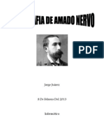 Biografia Amado Nervo