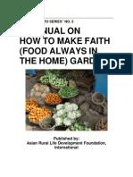 FAITH Gardening - Food Always in the Home