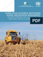 Global Atlas of Excreta, Watewater, Sludge, And Biossolids Management