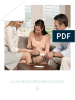 Nu Skin Demonstration Booklet