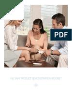 Nu Skin Demonstration Booklet