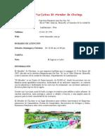 Complejo Turístico El Mirador de Chiclayo